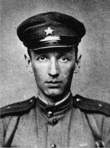 De Russische schrijver en kunsthistoricus Vsevolod Petrov (1912-1979)
